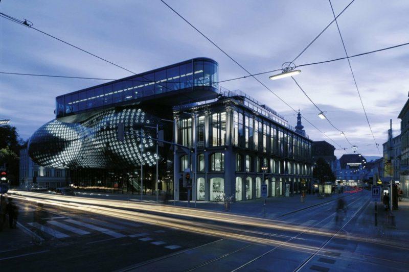 Kunsthaus Graz Design organische Architektur