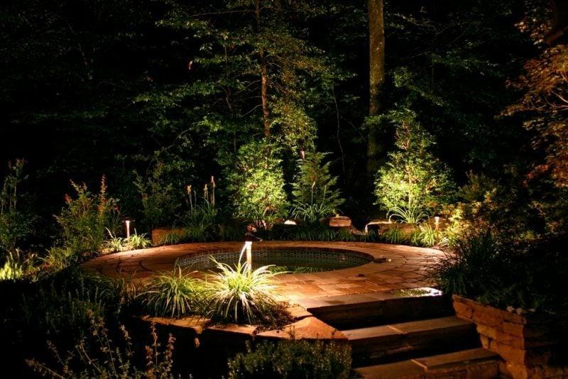 LED Beleuchtung im Gartenbereich