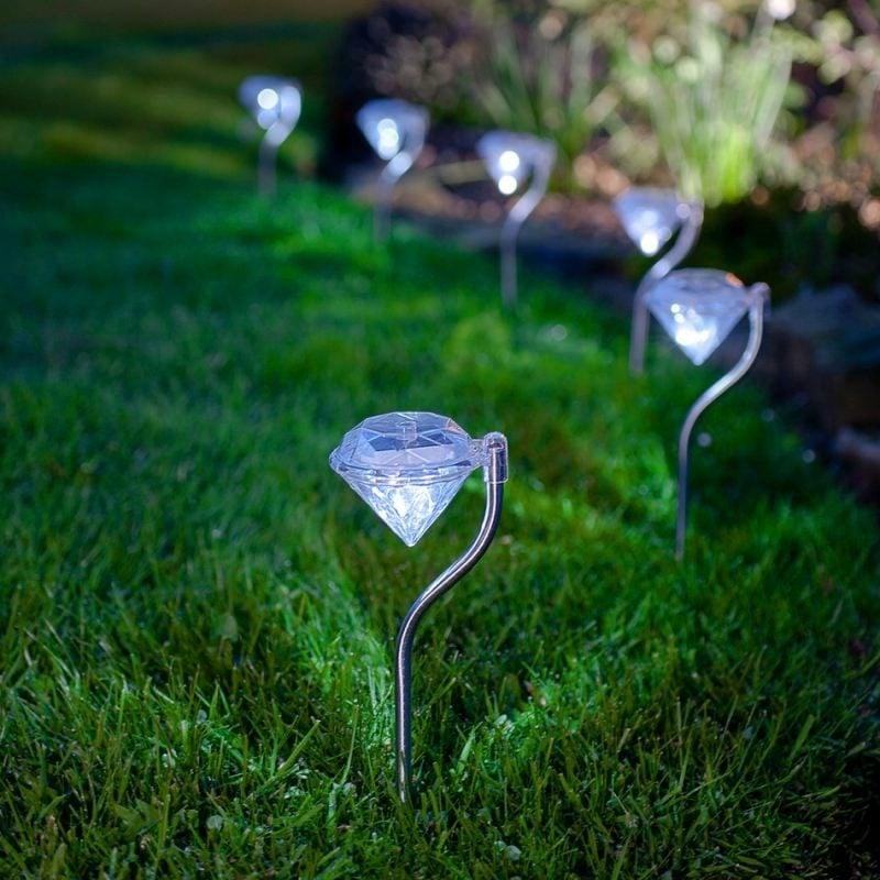 Solarleuchten Diamanten
