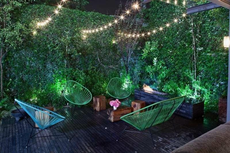 Lichterketten LED Gartenbeleuchtung