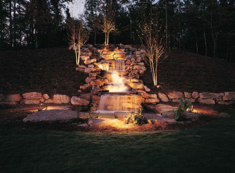 LED Gartenbeleuchtung Landschaftsbau