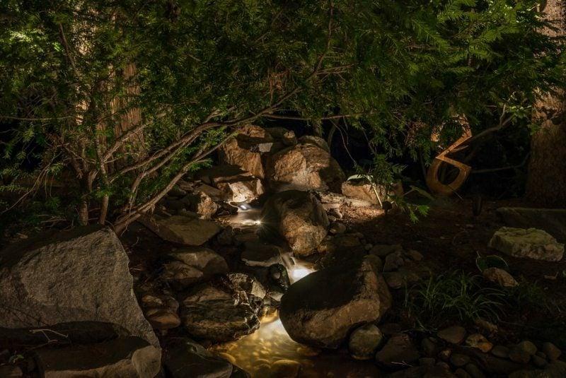Akzentbeleuchtung im Garten