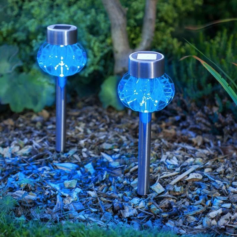 moderne Gartenlampen LED Gartenbeleuchtung