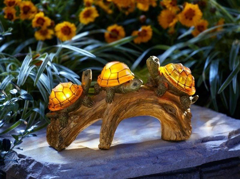 dekorative LED Beleuchtung im Garten