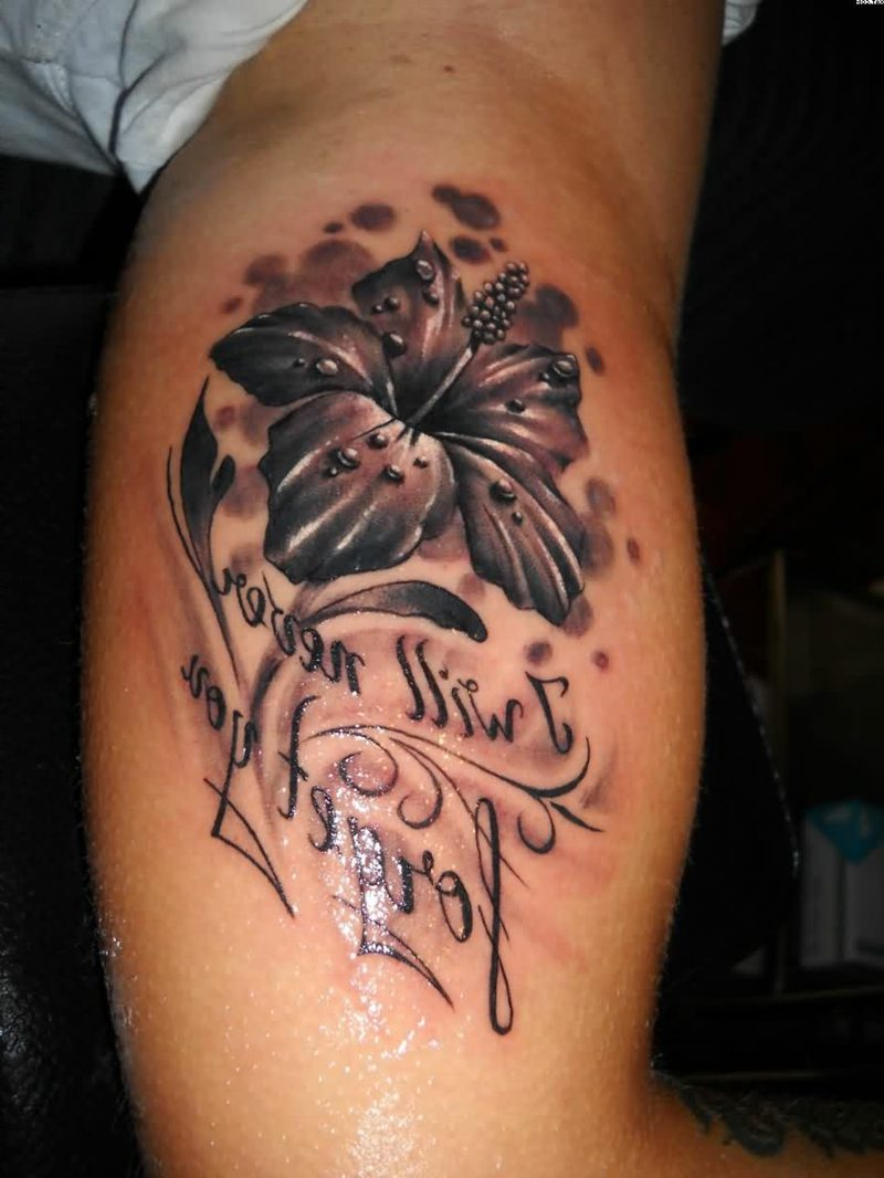 Tattoo Flower Designs Black And White