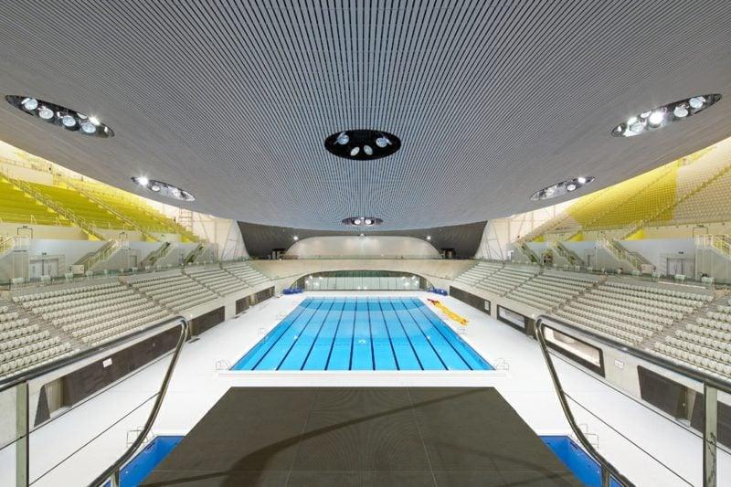 das Schwimmzentrum in London