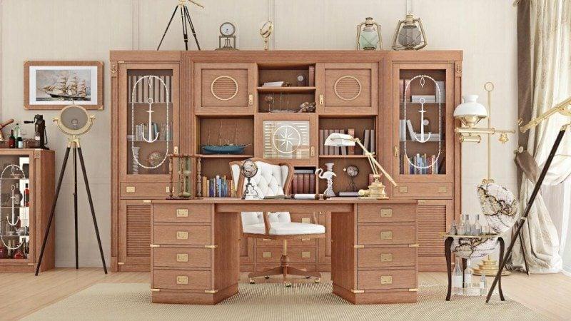kreative Designideen maritime Möbel