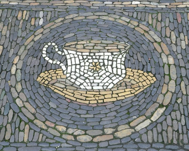 Mosaik basteln Kaffeetasse