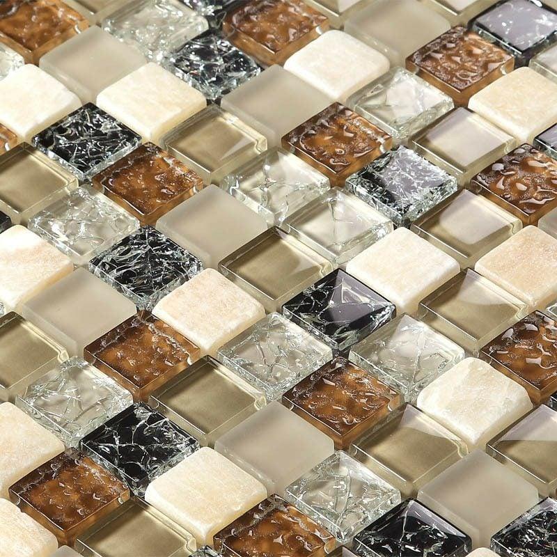Mosaik Teilchen kreative Bastelideen