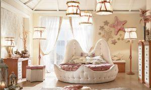 maritime Möbel schlafzimmer Muschelbett