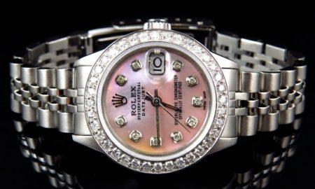 Rolex-Uhren-Damen-Rolex-Uhren-Damen-ladies-rolex-datejust-pink-dial-stainless-steel-diamond-watch-(2