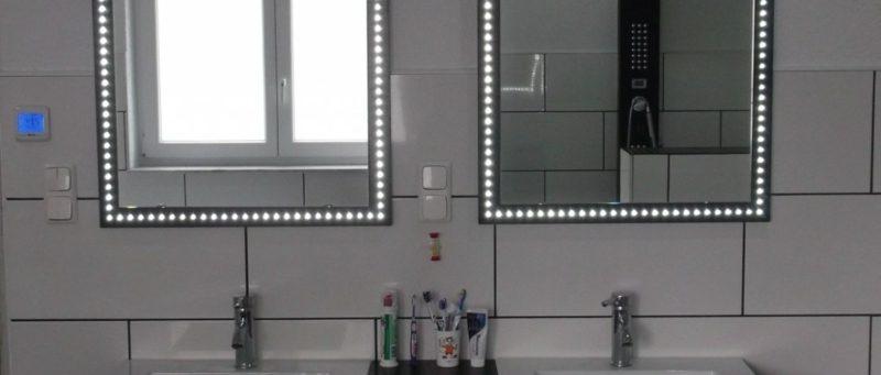 Spiegel Badezimmer Rundumbeleuchtung