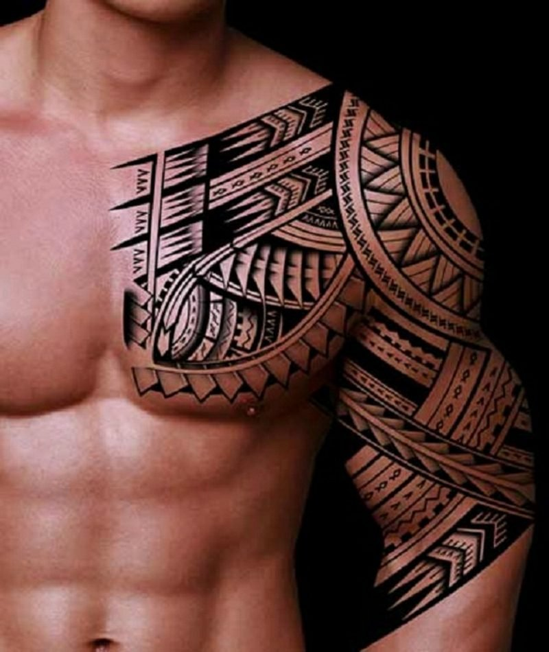Tattooing of both sexes in samoa
