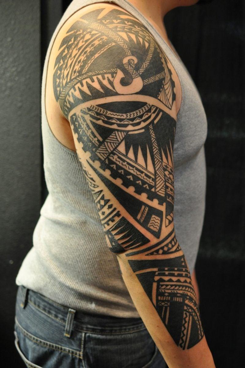 polynesian tattoo bedeutung hautschmuck mit bedeutung. Black Bedroom Furniture Sets. Home Design Ideas