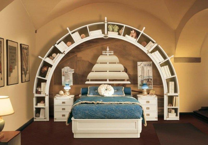 maritime m bel 25 inspirierende einrichtungsideen. Black Bedroom Furniture Sets. Home Design Ideas
