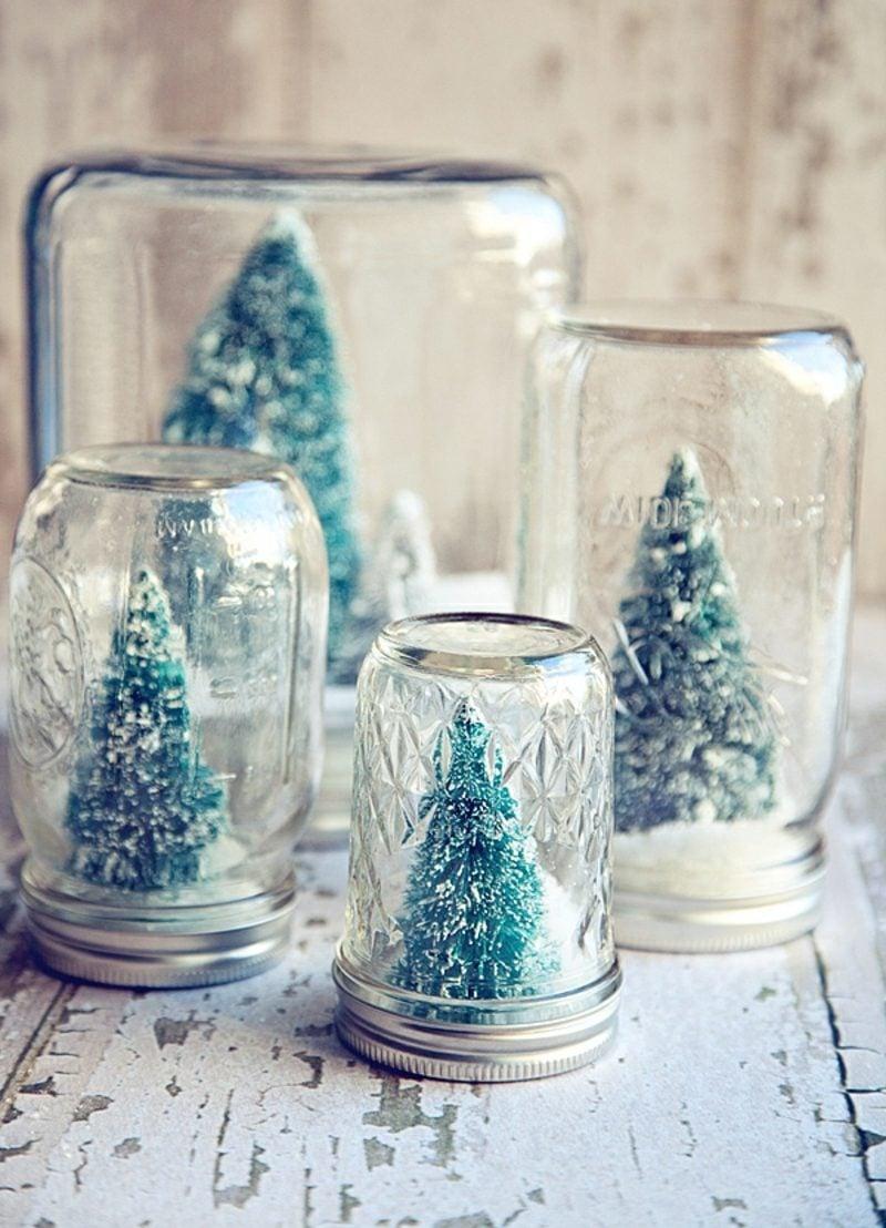 Schneekugel selber machen deko feiern diy weihnachtsdeko ideen zenideen - Weihnachtsschmuck selber machen ...