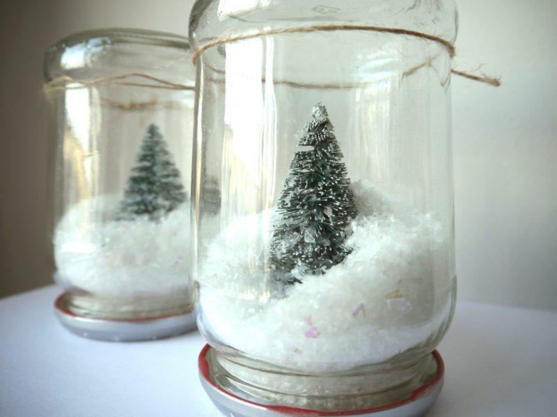 Schneekugel Selber Machen Deko Feiern Diy Weihnachtsdeko Ideen