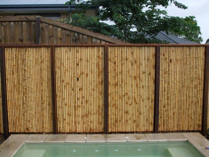 bambuszaun sichtschutz sichtschutz aty nature bambus. Black Bedroom Furniture Sets. Home Design Ideas