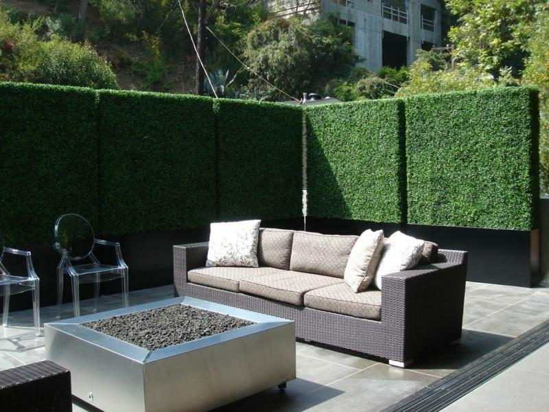 Gartensichtschutz Ideen und Inspirationen