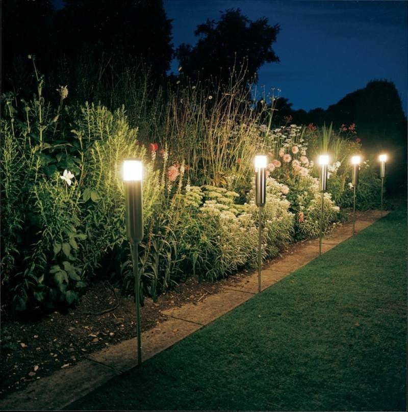 Solarleuchten LED Beleuchtung Garten