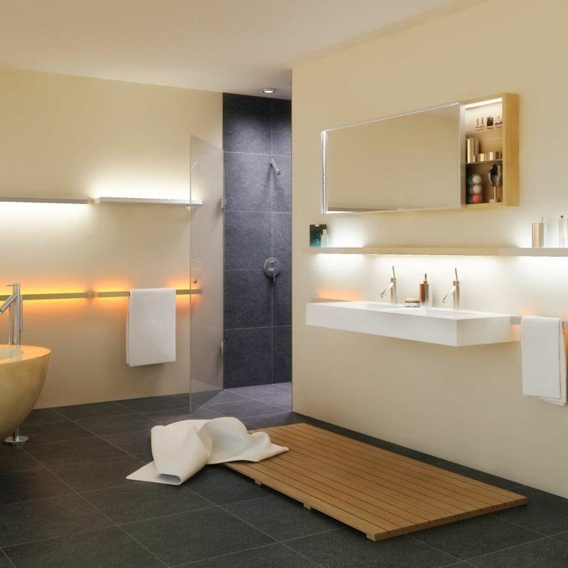 Badspiegel Beleuchtung Ideen und Inspirationen