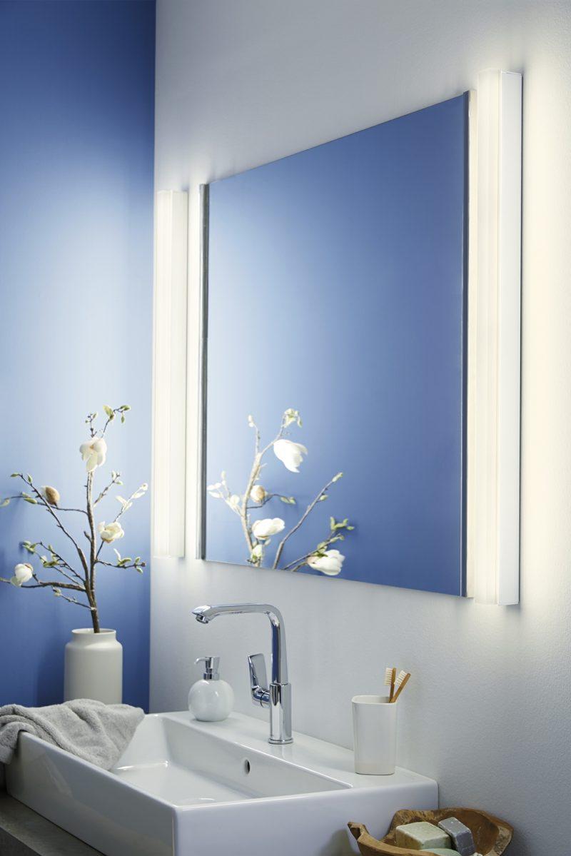 Wandlampen als Spiegelbeleuchtung Badezimmer