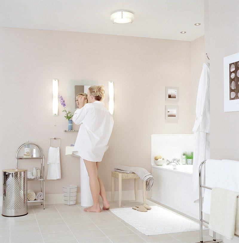 Badgestaltung Spiegelbeleuchtung