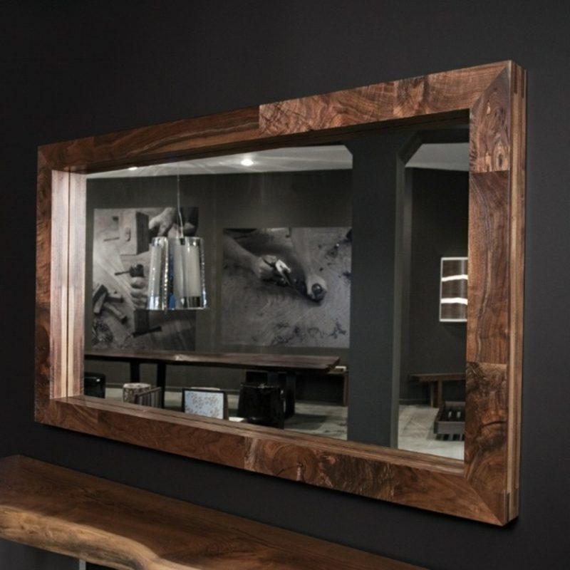 Spiegelrahmen aus Treibholz
