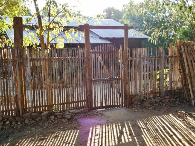 Zaun Bambus sichtschutz mit dekorativem bambuszaun – 50 originelle ideen