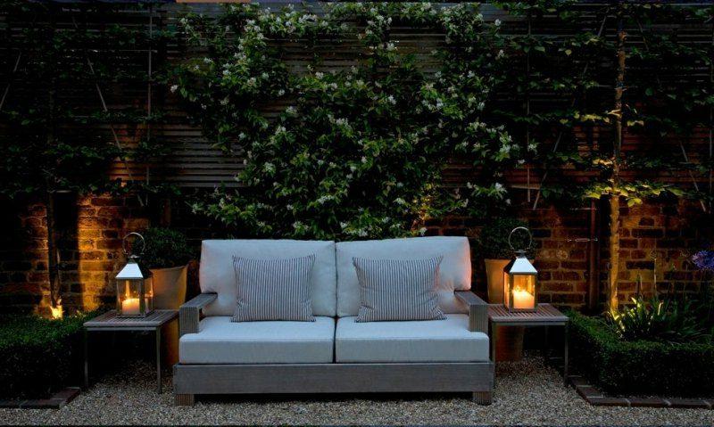 LED Gartenbeleuchtung Terrasse
