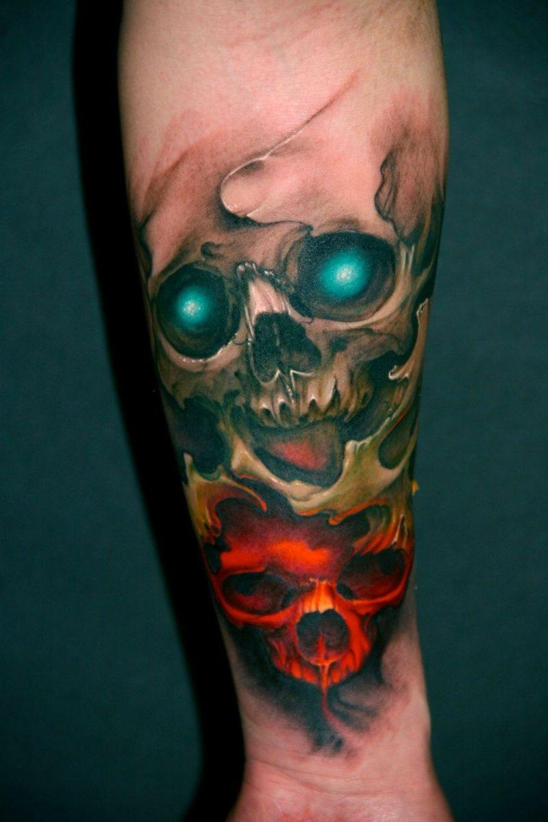 Totenkopf Tattoo