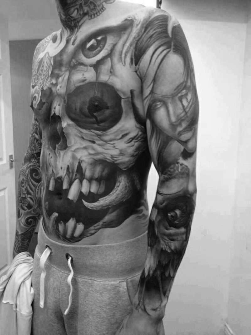 Yakuza Sleeve Tattoo Designs