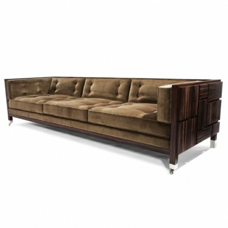massives Sofa aus Treibholz