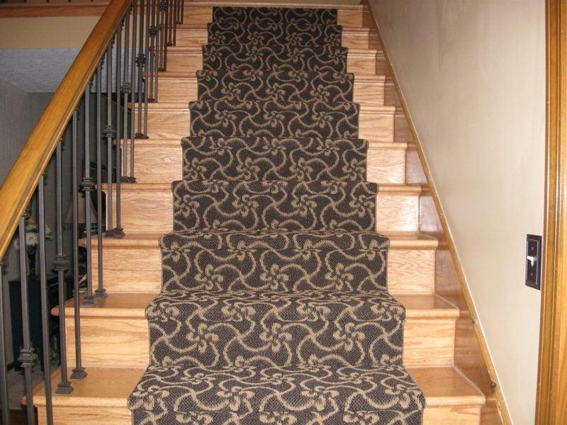 origineller Treppenteppich Designideen