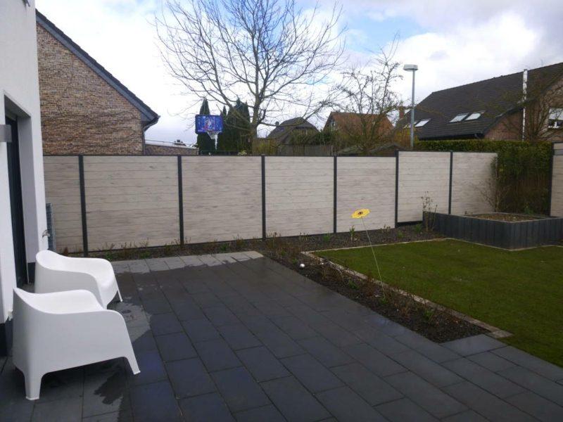Gartensichtschutz Zaun aus WPC