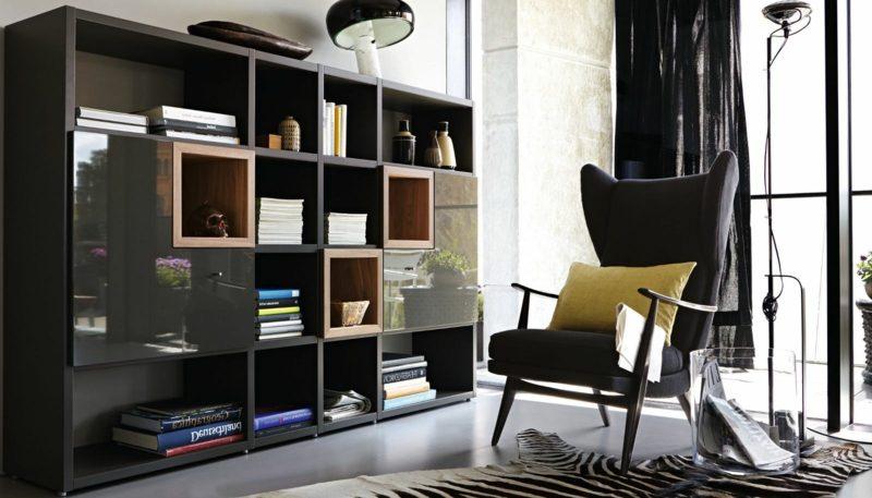 Wohnwand Hülsta - Architektur, Innendesign, Wandverkleidung - ZENIDEEN