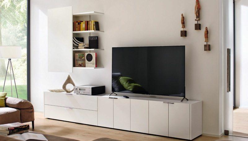 wohnwand h lsta architektur innendesign wandverkleidung zenideen. Black Bedroom Furniture Sets. Home Design Ideas