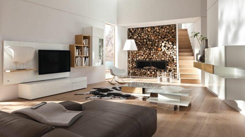 Wohnwand modern hülsta  Wohnwand Hülsta - Architektur, Innendesign, Wandverkleidung - ZENIDEEN