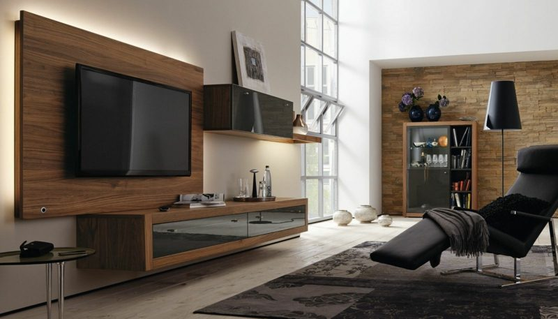 wohnwand h lsta architektur innendesign. Black Bedroom Furniture Sets. Home Design Ideas