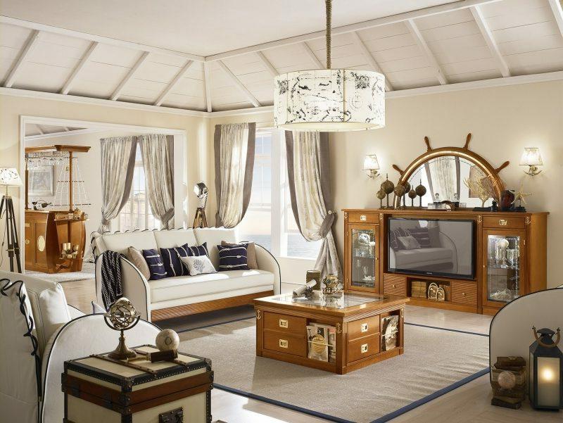 maritime Möbel Wohnzimmer