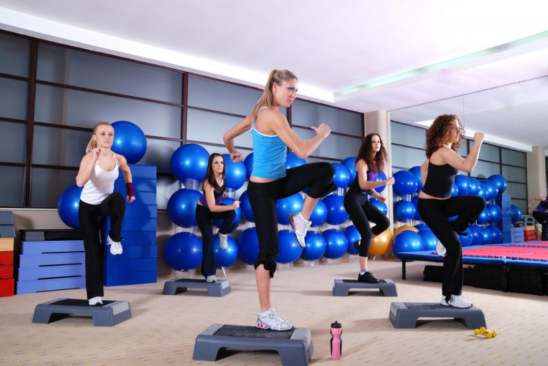 aerobes training sportlich