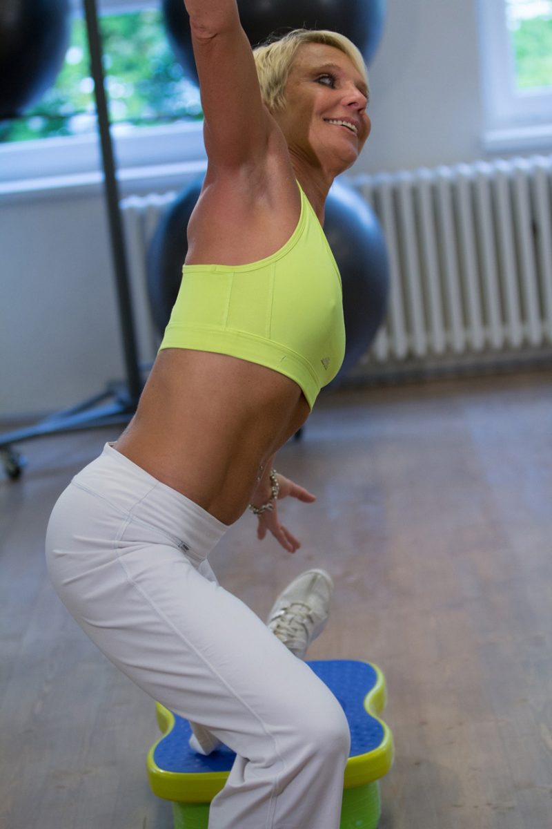 aerobes training schlank
