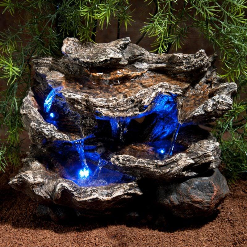 Aquarium Einrichtungsbeispiele blaue Licht