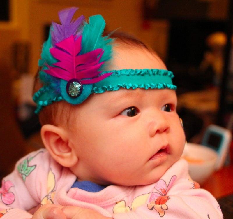 Baby Haarband Arten