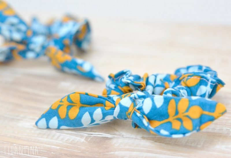 Baby Haarband Blau
