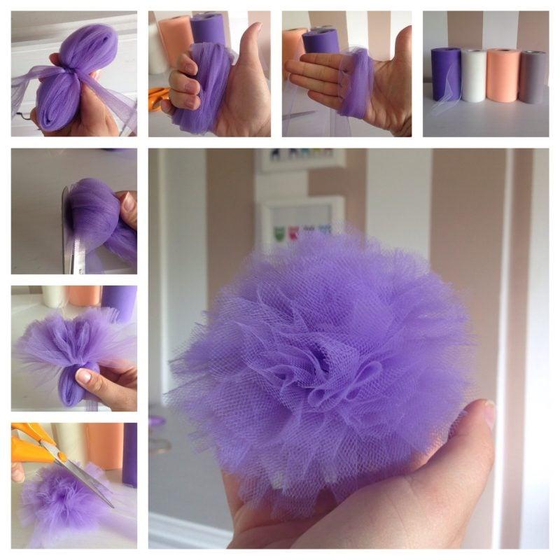 Baby Haarband Blume DIY