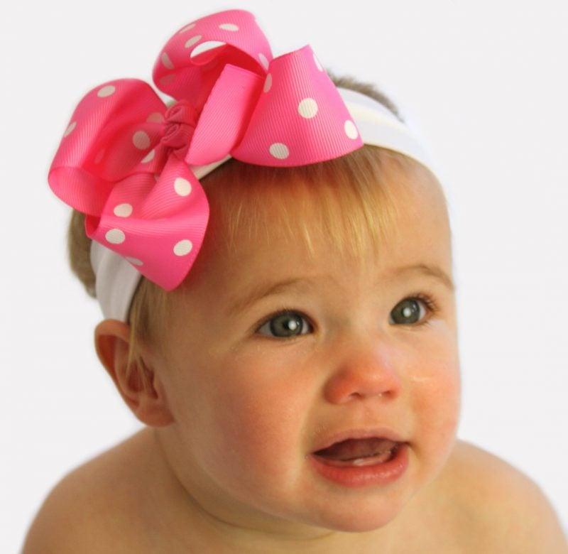 Baby Haarband schon