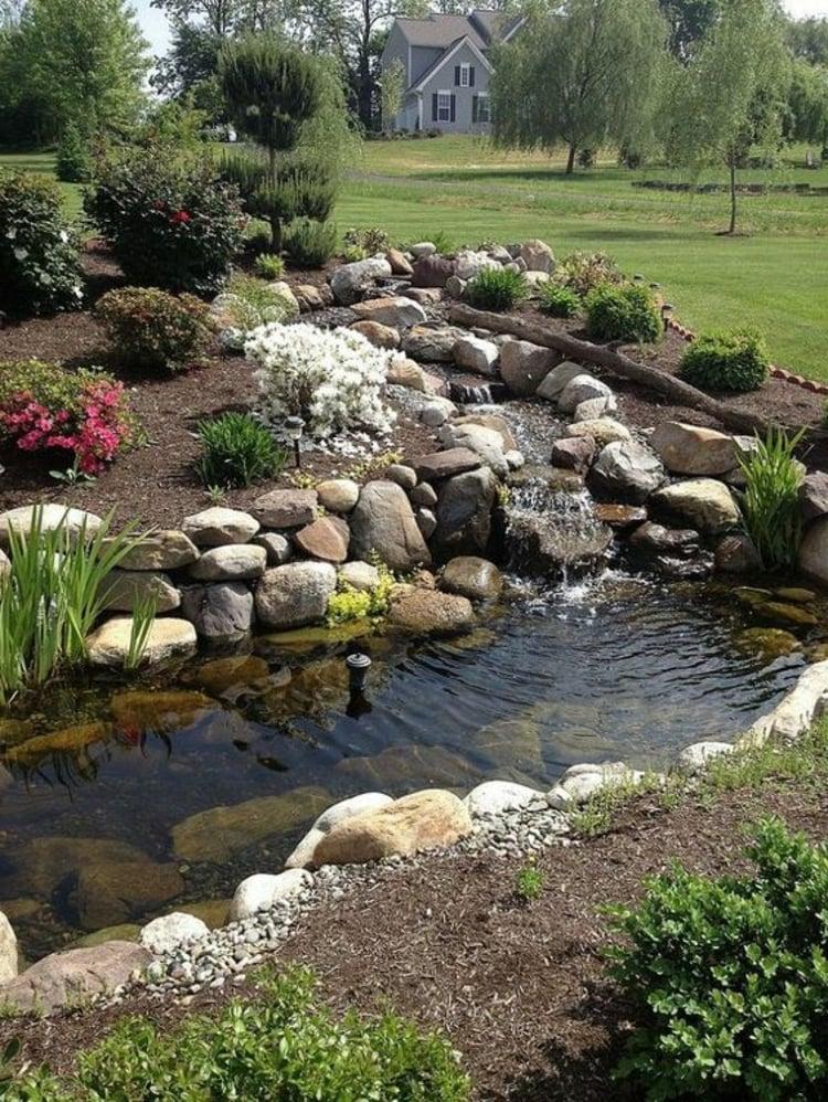 Bachlauf anlegen n tzliche tipps und lebendige vorschl ge for Gartengestaltung beete