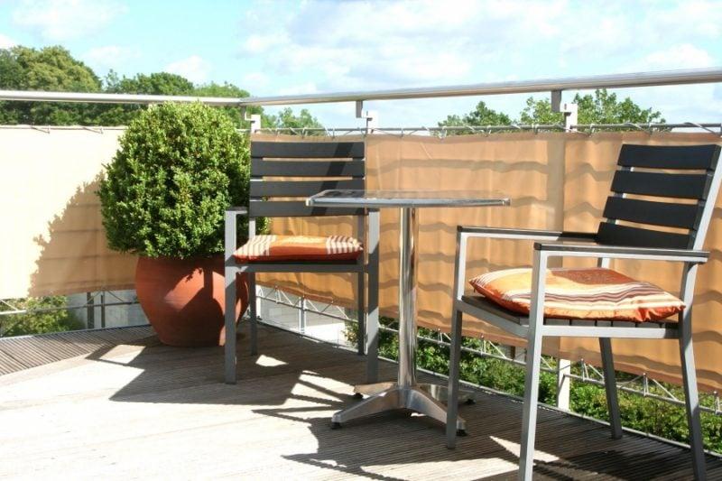 Balkonumrandung Sichtschutz
