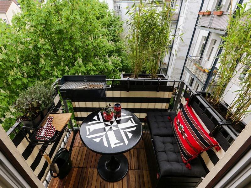 Balkonumrandung Kleine Terrasse